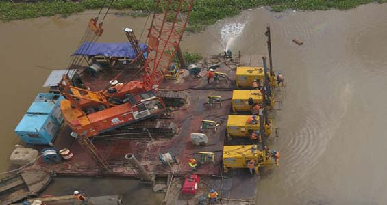 offshore and jetty construction